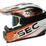 SEC00068 X MOTO WHITE-ORANGE